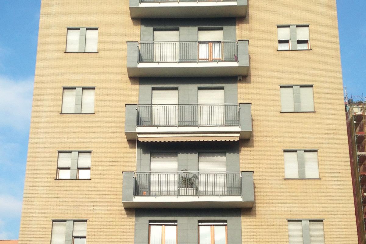 Ristrutturazione facciate condominio Milano